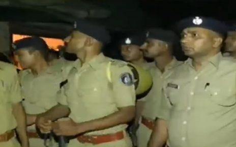 search operation by police in kubernagar chharanagar areas