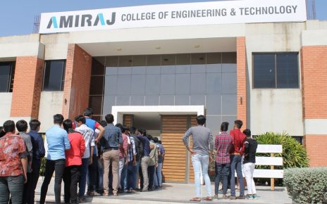 ahmedabad job mela at amiraj college