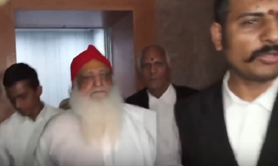asaram appear in court at jodhpur for rape case