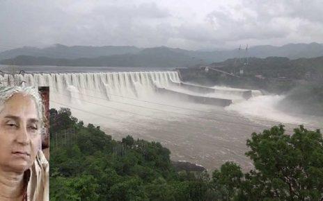 narmada dam saved by medha patkar says congress