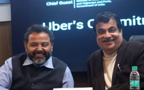 nitin gadkari morth and unber pradeep parmeswaran