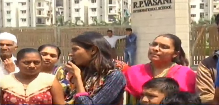 rp vasani school parents denied results