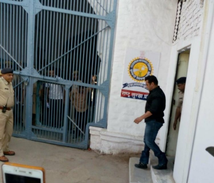 salman khan enters jodhpur jail after punishment