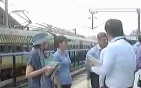 vadodara railway station final survey for bullet train