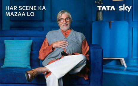 Tata Sky entertainment with Amitabh Bachchan