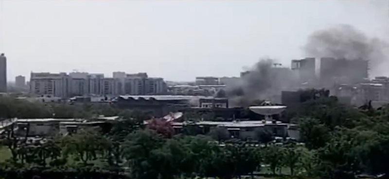 fire in sac campus