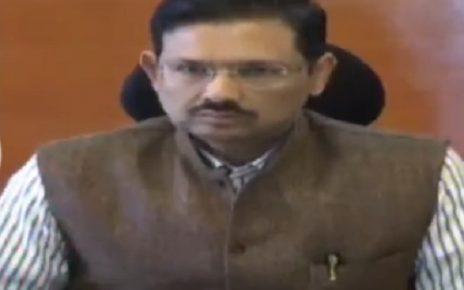 gujarat government jn singh on property returns