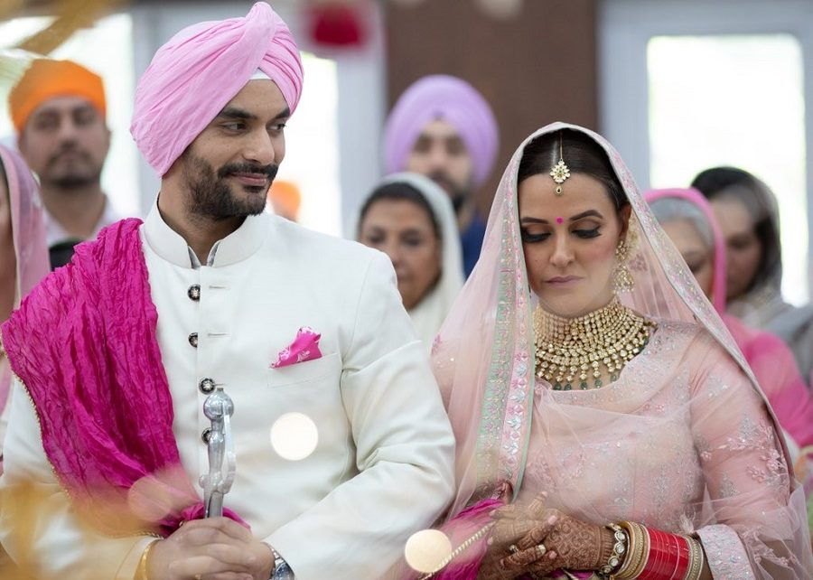 neha dhupia marries angad bedi