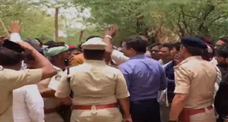 patan police investigate rape case of santalpur