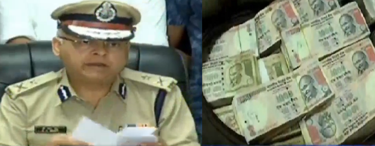 rajkot sog seized rs 1.69 crores notes