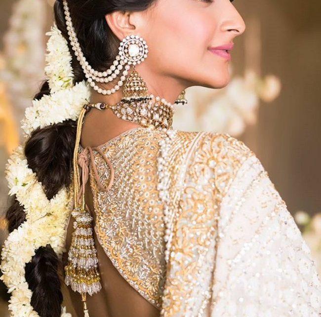 sonam kapoor in a bridal costume