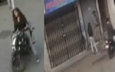 surat fearless lady don threatens with sword
