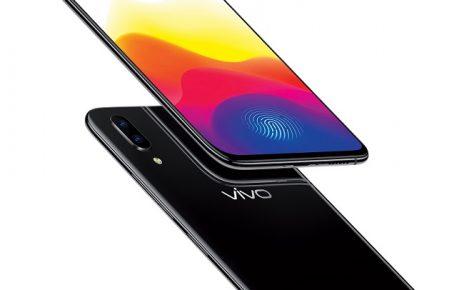 vivo with fingerprint scanning
