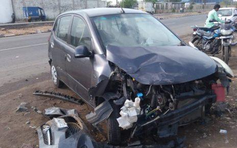 1 killed in changodar road accident