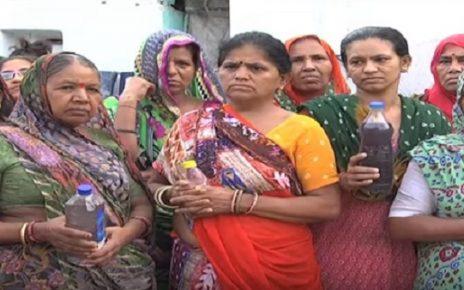contaminated water in naroda ahmedabad