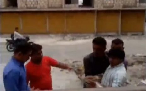junagadh son of police detained for attempt of self immolation