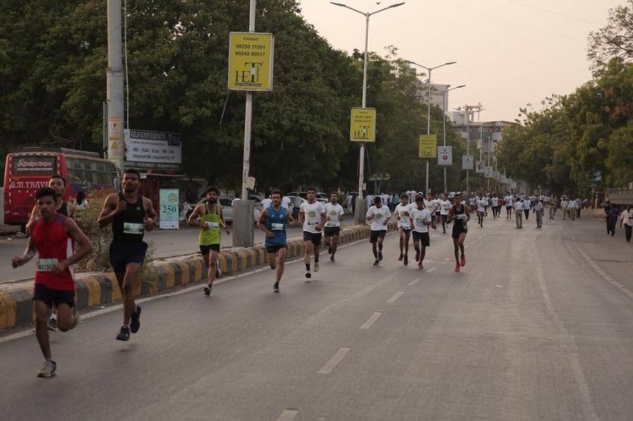 mini marathon runners in ahmedabad