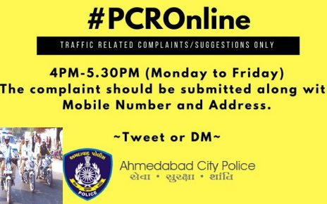 pcronline by ahmedabad traffic police