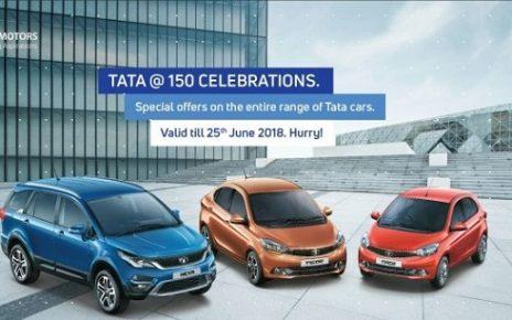 tata 150 year offer