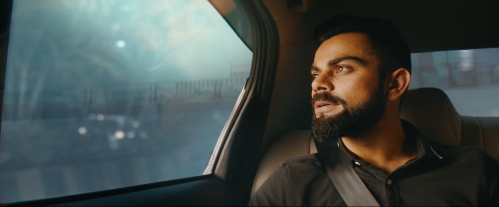 uber india launch virat kohli adv