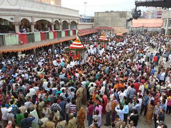 Rath Yatra in Ahmedabad