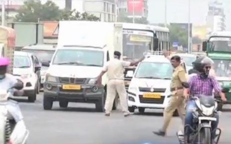 ahmedabad traffic police deals firmly