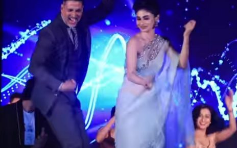 akshay mouni dance on table for gold movie