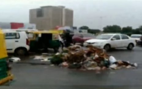 garbage heap in ahmedabad