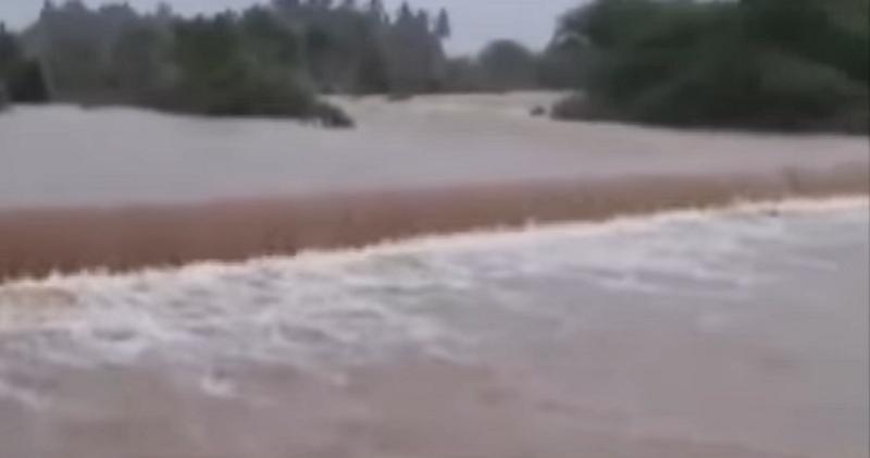 junagadh dam overflows
