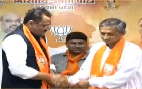kunwarji bavaliya joins bjp