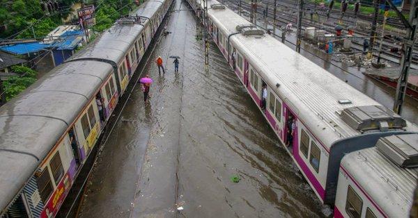 mumbai train services disrupted