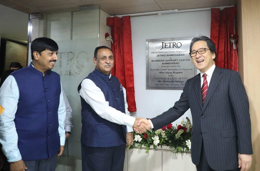 opening of jetro business centre