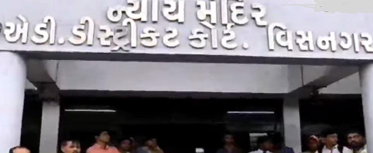 visnagar court gives verdict in rioting case