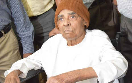 98 year old patient manilal panchal