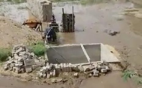banaskantha bhabhar minor canal damage
