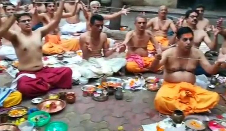 brahmins change thread on raksha bandhan