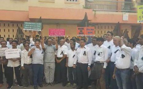 druggists protest in gujarat