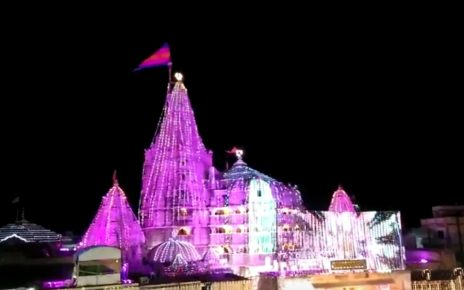dwarkadhish temple decoration