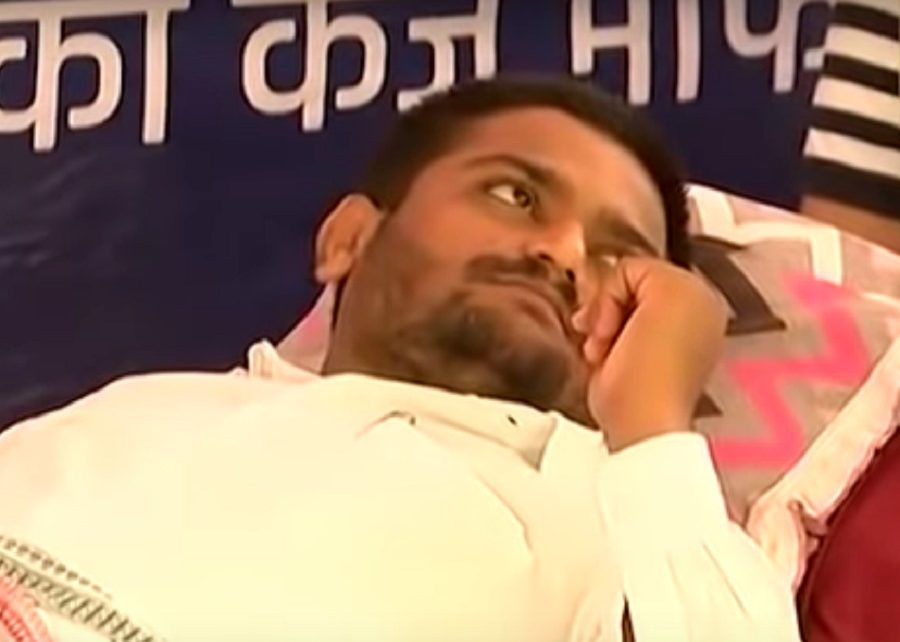 hardik patel to end fasting day 19