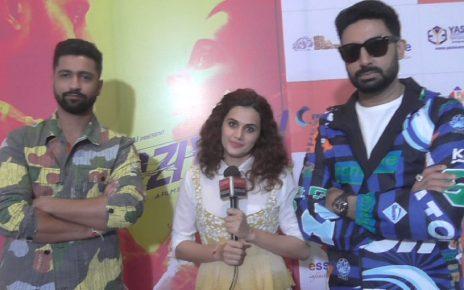 manmarziyan movie promotion in ahmedabad
