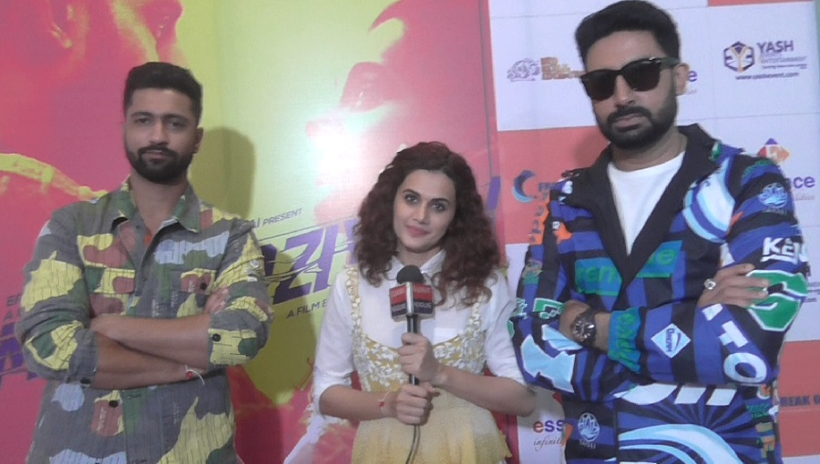 manmarziyan movie promotion in ahmedabad