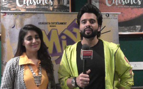mitron movie starcast jackky bhagnani and kritika kamra in ahmedabad