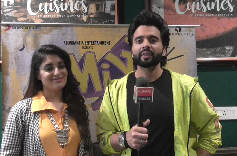 mitron movie starcast jackky bhagnani and kritika kamra in ahmedabad