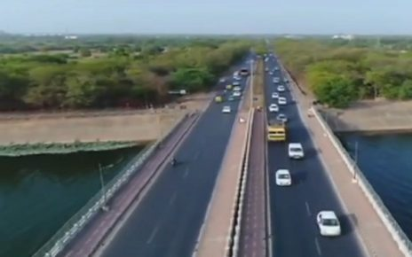 rajkot to ahmedabad 6 lane highway