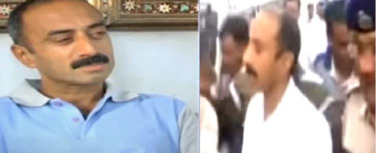 sanjiv bhatt detained by cid crime branch