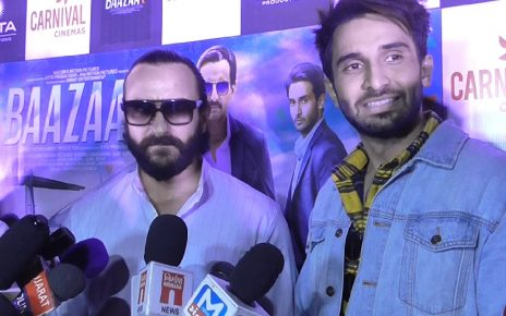 Saif Ali Khan promotes Baazar movie