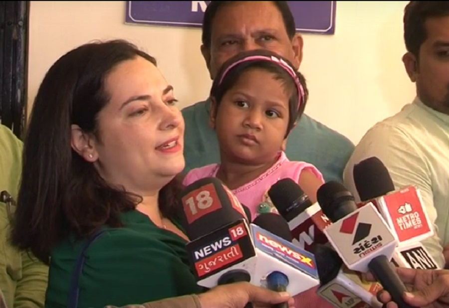 ahmedabad orphanage girl adopted in spain