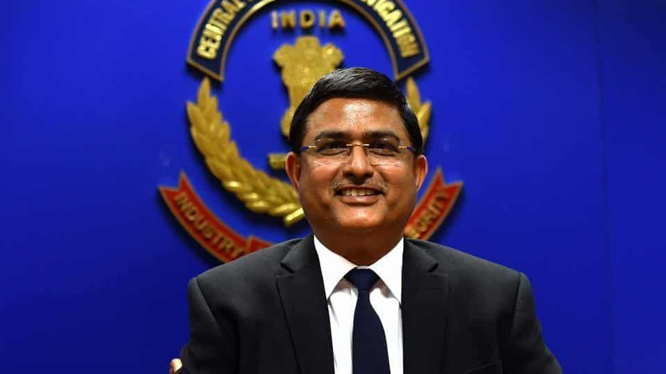asthana booked for bribe