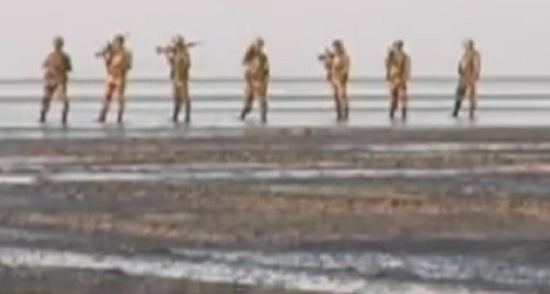 bsf combing at kutch