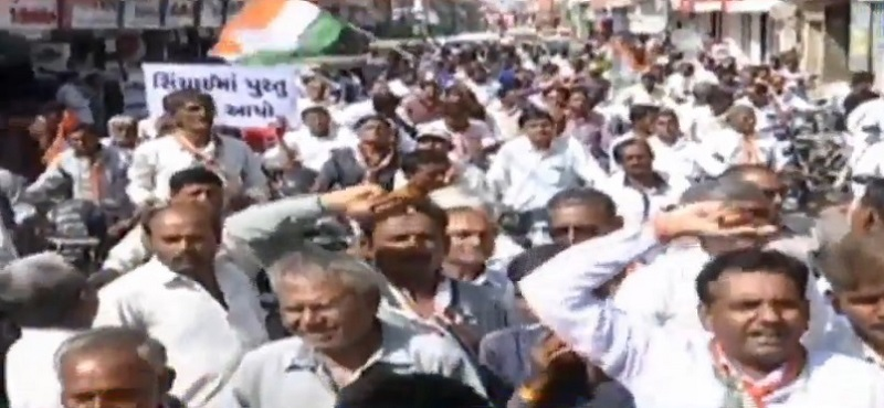 farmers protest in morbi